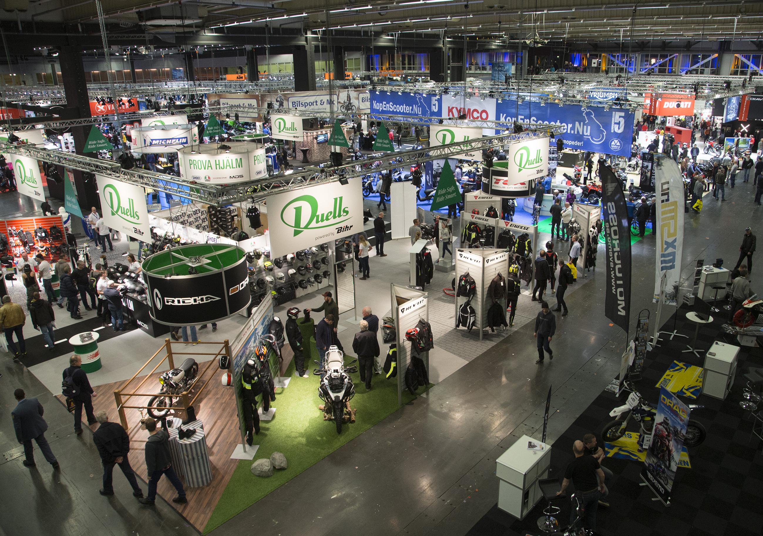 Våra publika event | MCRF - Moped och Motorcykelbranschens Riksförbund